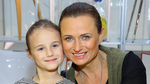Jana Adamcová s dcerou