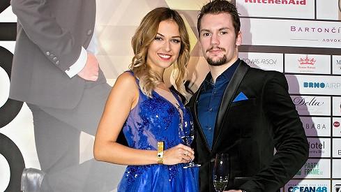 Lucie Kovandová s Petrem Holíkem