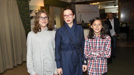 Zuzana Stivínová se syny