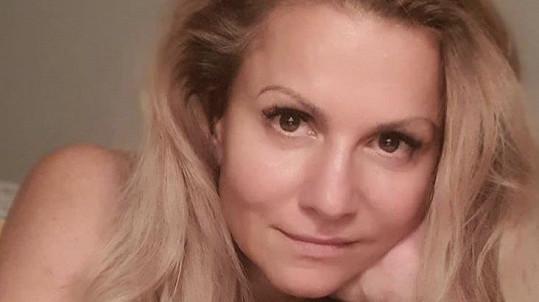 Yvetta Blanarovičová se vyfotila bez make-upu