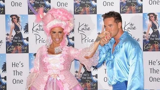 Katie Price a její manžel Kieran Hayler