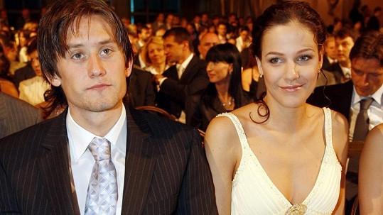 Tomáš Rosický a Radka Kocurová mají syna.