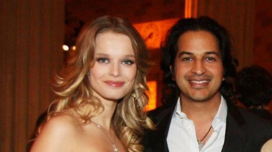 Helena Houdová s manželem Omarem.