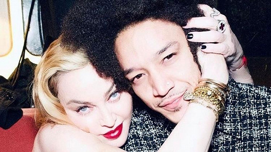 Madonna s partnerem Ahlamalikem Williamsem
