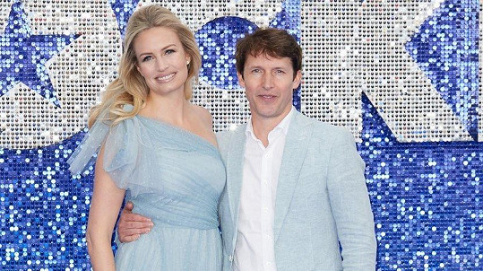 James Blunt a Sofia Wellesley
