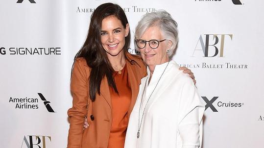 Katie Holmes s maminkou Kathleen Stothers-Holmes