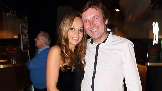 Zdeněk Mahdal s přítelkyní