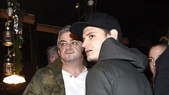 Michal Suchánek se synem Jáchymem