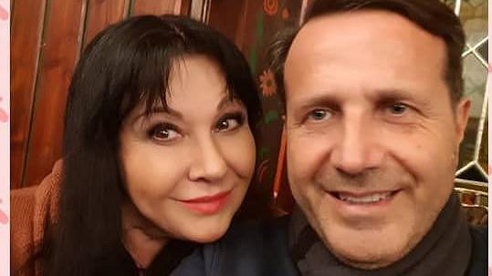Dáda Patrasová s přítelem Vitem