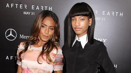 Jada Pinkett Smith s dcerou Willow