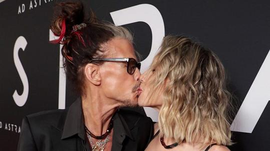Steven Tyler s přítelkyní Aimee Preston