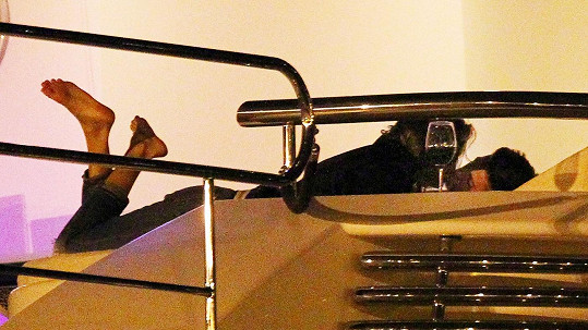 Justin Bieber na Ibize s Alyssou Arce