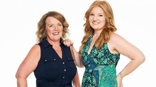 Zoe Boddy a Dianě Dick se podařilo zhubnout díky tvrdému dietnímu režimu.