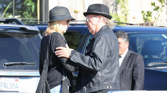 Neil Young a Daryl Hannah