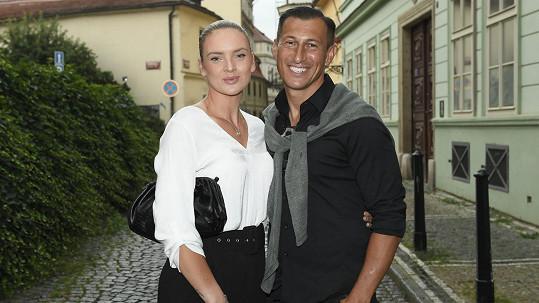 Tereza Martincová se svým partnerem Janem Jelínkem