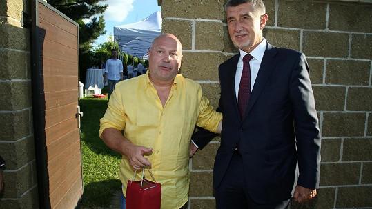 Michal David s Andrejem Babišem