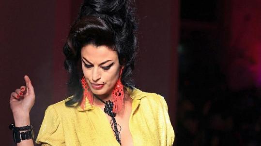 Některé modelky byly od Amy k nerozeznání.