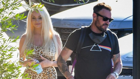 Brian Austin Green se objevil po boku Courtney Stodden.