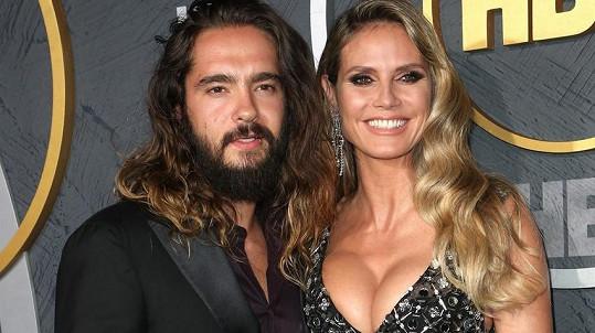 Heidi Klum s manželem Tomem Kaulitzem
