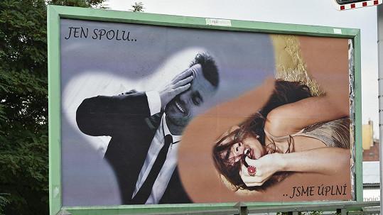 Petra a Leoš mají společné billboardy.