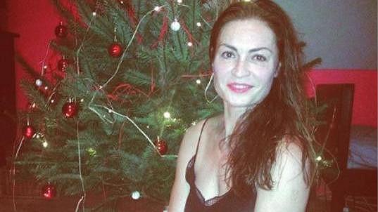 Hana Kynychová si Vánoce umí užít.