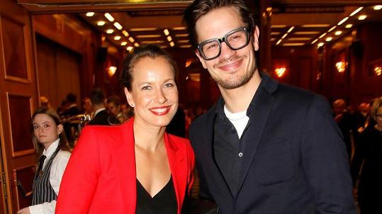 Barbora Strýcová a David Kraus