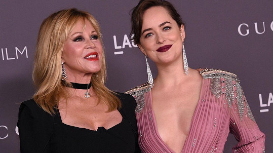 Melanie Griffith s dcerou Dakotou Johnson