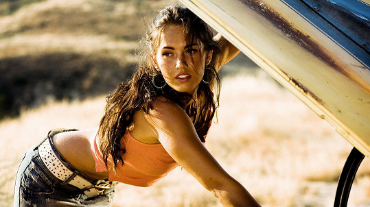 Megan Fox ve filmu Transformers