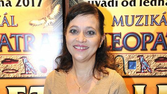 Alena Mihulová bude hrát v muzikálu.