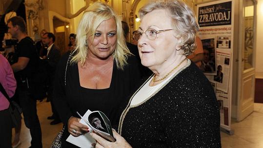 Markéta Mayerová s maminkou
