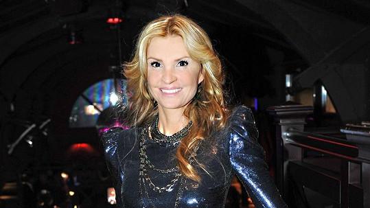 Tamara Kotvalová v šatech za půl miliónu.