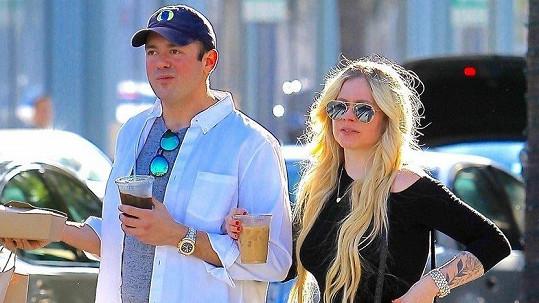 Avril Lavigne s přítelem