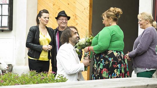 Marta Jandová a její otec Petr Janda se mihnou v Doktorech z Počátků.