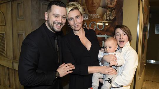 Michal Kavalčík se pochlubil svou rodinou.