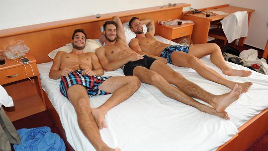 Jan Vurm, Tomáš Martinek a Jakub Kraus