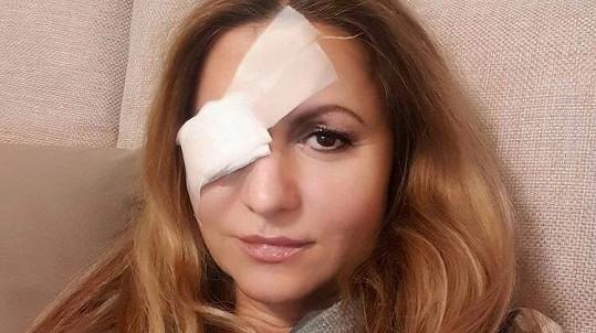 Yvetta Blanarovičová si poranila oko. Mohl za to úklid...
