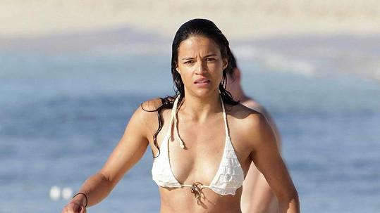 Krásná Michelle Rodriguez.