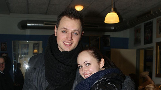 Jan Kříž s přítelkyní Marií.