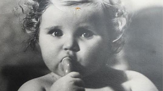 Vendula Pizingerová jako malá holčička