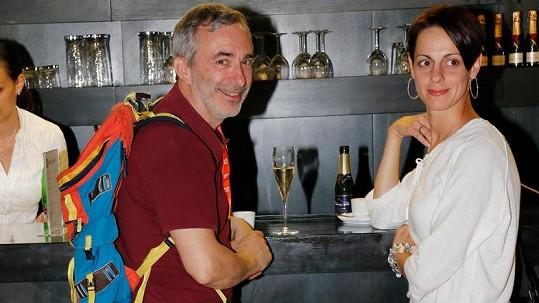 Petr Vacek a Jiřina Mencáková na karlovarském filmovém festivalu