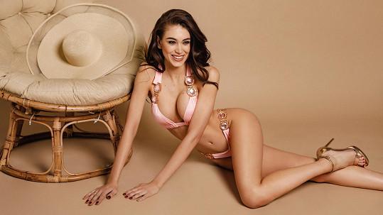 Denisa Spergerová je vyhledávanou modelkou plavek.