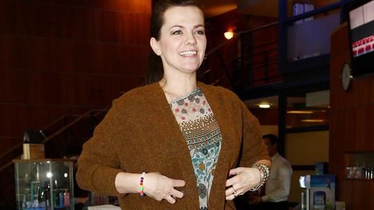 Marta Jandová chce zhubnout.