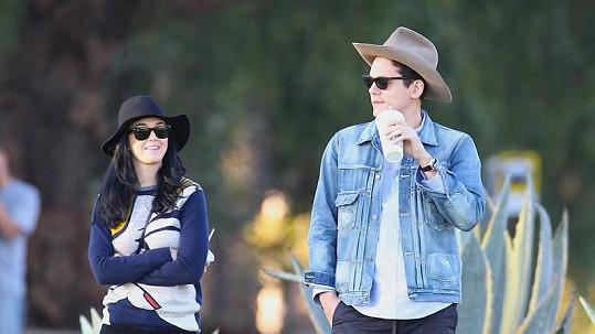 Katy Perry s Johnem Mayerem.