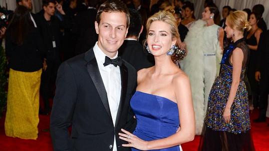 Ivanka Trump s manželem Jaredem Kushnerem oznámili očekávání třetího potomka.