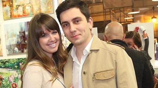 Tereza Langmajerová s přítelem