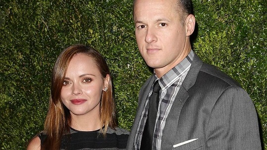 Christina Ricci s manželem.