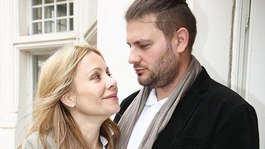 Lucie Gažiová s Petrem Svobodou.