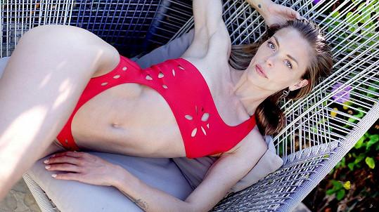 Jaime King pro značku Gigi C Bikinis