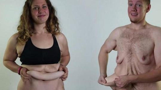 Sympatický pár a plandající připomínka jejich tlustých časů