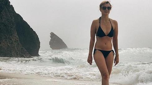 Jitka Schneiderová tráví dovolenou v Portugalsku.